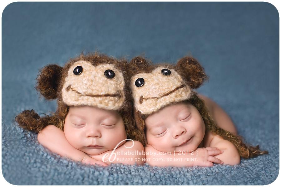 Identical Twinkies { Austin Newborn Twins Photographer ...